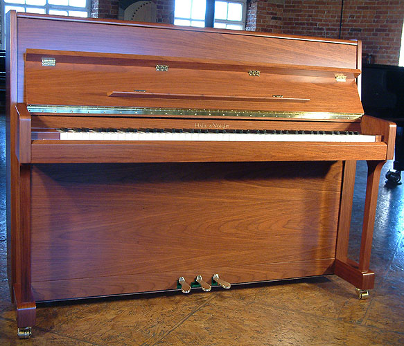 brand new walnut halle voight upright piano new cheap upright piano for sale we buy and. Black Bedroom Furniture Sets. Home Design Ideas