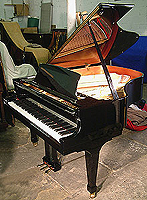 Boston 178 Grand Piano For Sale with a black case and polyester finish