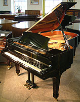 Kawai KG 5D Grand Piano For Sale with a black case and polyester finish