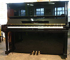 Modern Yamaha U3 Upright Piano for sale