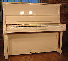 Modern Steinway Model K Upright Piano For Sale