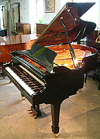 New Wendl & Lung Model 178 Professional grand piano For Sale with a black case and polyester finish