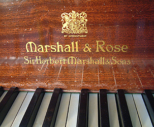 Marshall Amp Rose Grand Piano For Sale Specialist Steinway