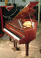 Challen GP142 Grand Piano with a mahogany case and polyester finish