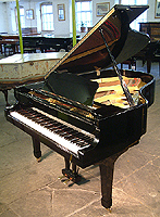 Yamaha G3 Grand Piano with a black case and polyester finish
