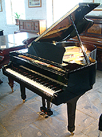 Yamaha Model G2 Grand Piano For Sale with a black case and polyester finish