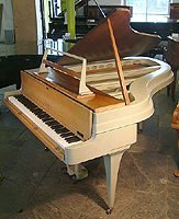 Rippen Grand Piano with an aluminium frame