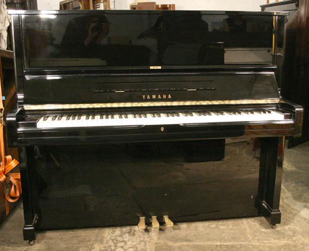 Yamaha u2 upright piano for sale with a black case and for Yamaha u2 piano