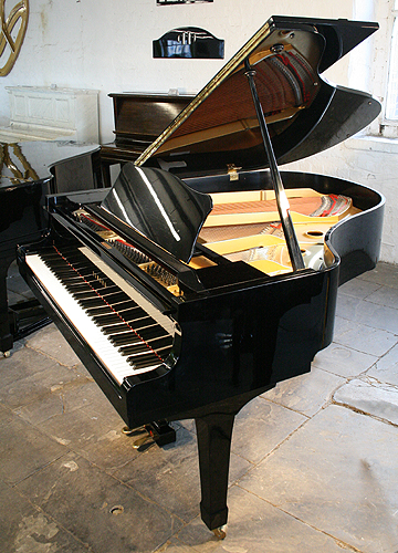 Black yamaha g2 grand piano for sale specialist steinway for Yamaha grand pianos for sale