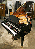 Yamaha Model GA1 Grand Piano For Sale with a black case