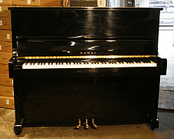 Modern Kawai KU1D Upright Piano For Sale
