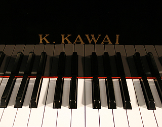 Kawai Kf1 Baby Grand Piano For Sale With A Black Case