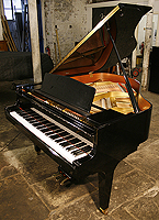 Kawai KF1 Grand Piano For Sale with a black polyester finish
