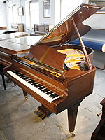 Bechstein Model M Grand Piano For Sale with a mahogany case