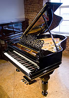 Antique, Black Steinway Model A Grand Piano For Sale