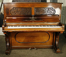 Antique, Rosewood Steinway Upright Piano
