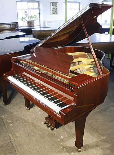 Yamaha g1 grand piano for sale with a mahogany case for How big is a grand piano