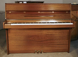 Chappell upright piano with a mahogany case