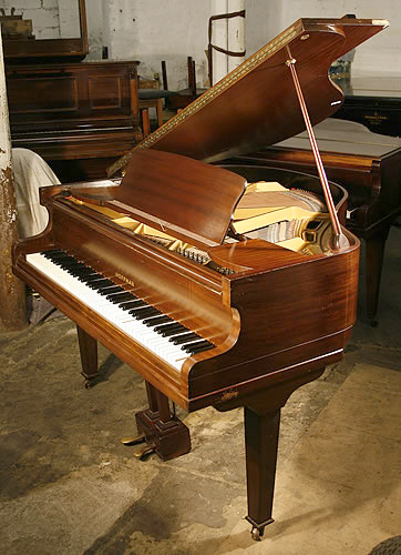 Hoffman baby grand piano for sale with a polished for How big is a grand piano