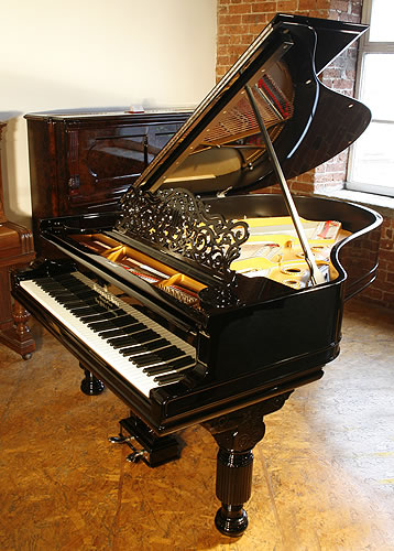 Restored steinway model a grand piano for sale with a for Big grand piano