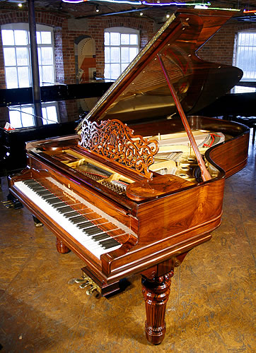 Restored, Steinway model B grand Piano for sale.