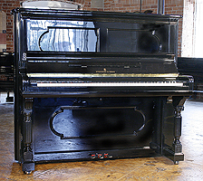 Antique Steinway Upright Piano
