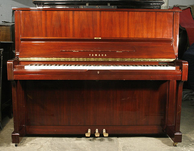 Yamaha u1a upright piano for sale with a mahogany case and for Yamaha piano dealers