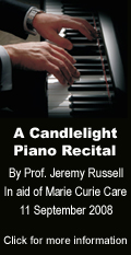 A Candlelight Piano Recital